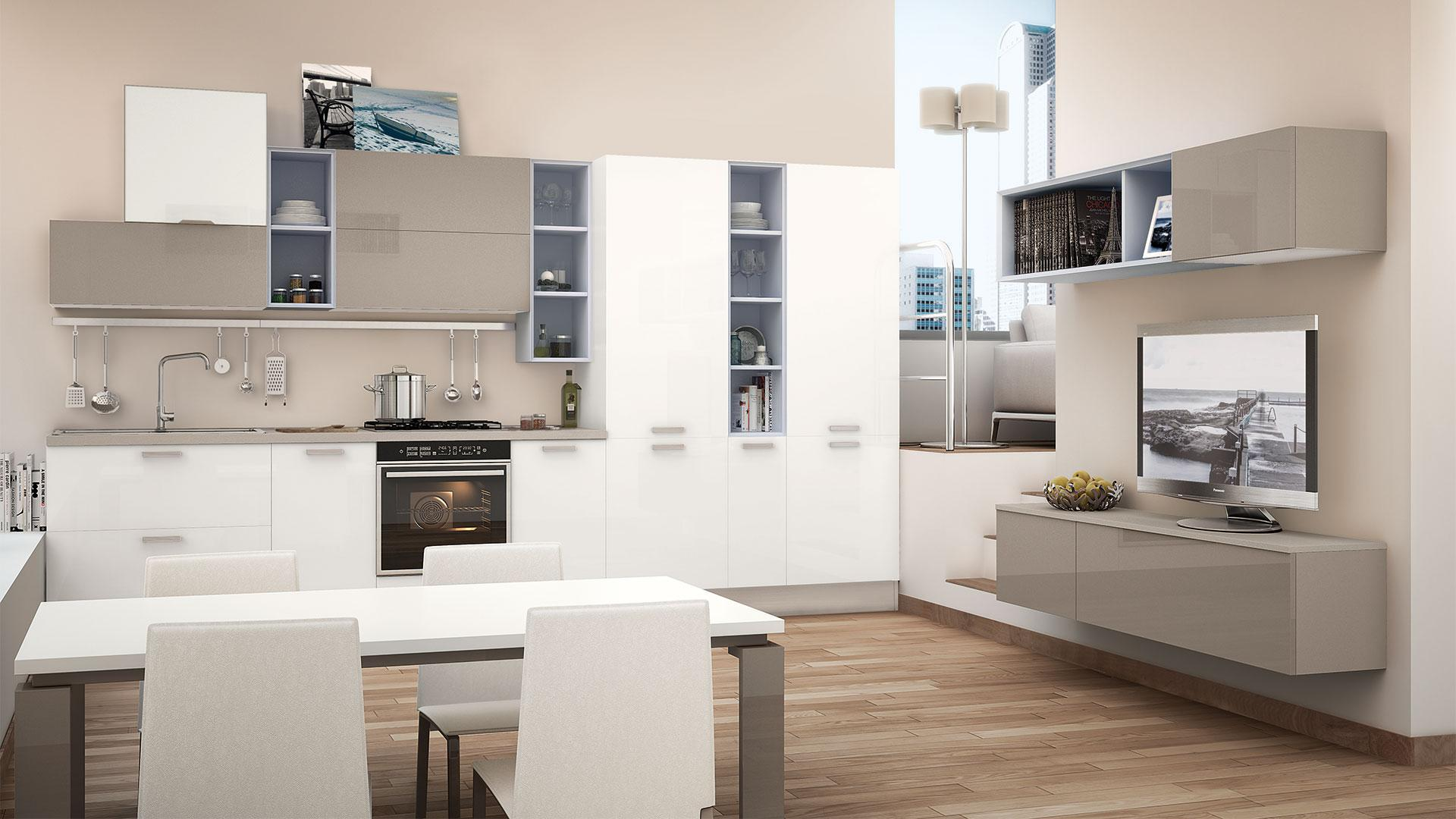 Beautiful Tavoli Da Cucina Lube Contemporary - House Interior ...