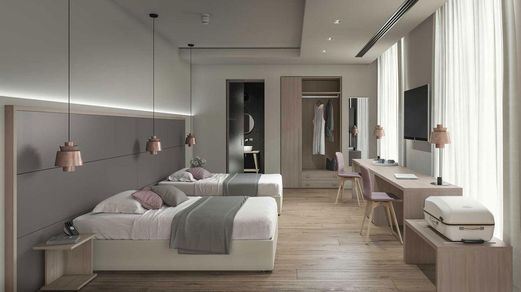 Proposte camere albergo for Camere albergo dwg